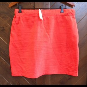 Red Loft Casual Mini Skirt, NWT, Medium